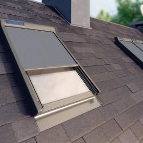 Tenda parasole amz solar per finestre da tetto e vmz solar - Parasole per finestre ...