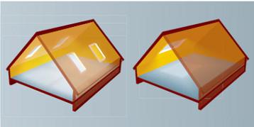Posizionamento delle finestre sul tetto fakro for Finestra nel tetto