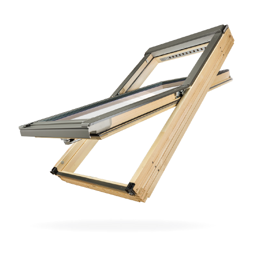 Super termoisolante finestra con doppio vetrocamera fakro for Finestre fakro