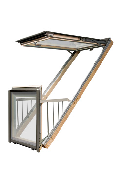 Finestra balcone galeria fakro for Finestra balcone