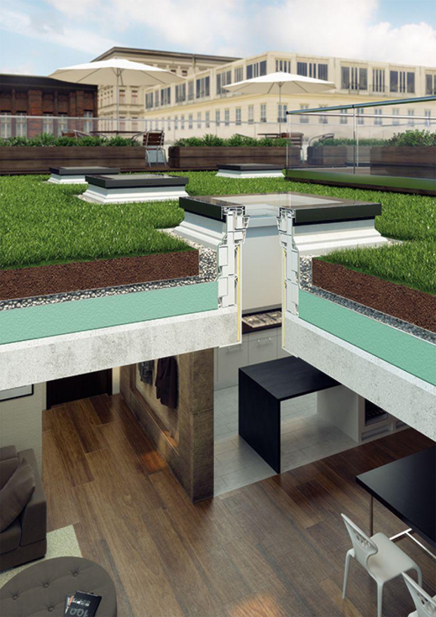 Finestre per tetti piatti tipo f fakro for Finestre fakro