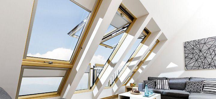 Finestre da tetto scale per la soffitta fakro italia for Velux finestre balcone