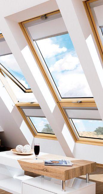 Finestre da tetto scale per la soffitta fakro italia - Finestre a tetto ...
